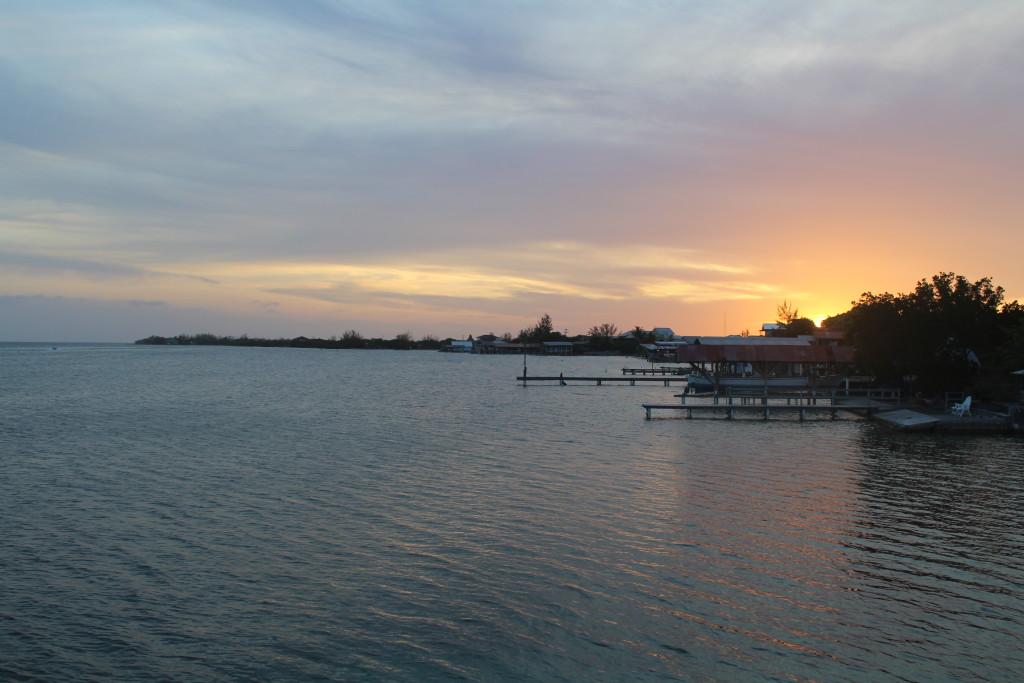 Utila, Honduras Sunset