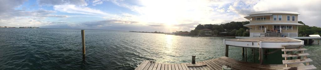 Utila, Honduras Panorama
